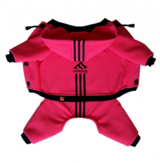 NEON HOT PINK - softshell overal