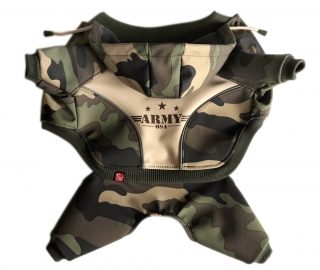ARMY - softshell overal